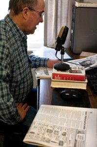 Radio community helps blind, visually impaired receive news