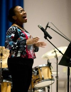 Singer pays tribute to black female musicians