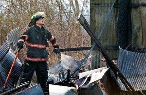 Burn barrel fire spreads in DeSoto shed