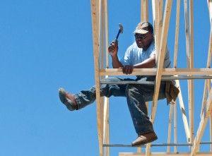 Community, organization rebuilds church