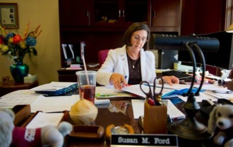 Interim Provost Ford to retire Friday