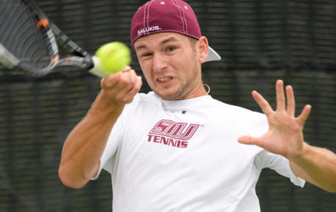 Lone senior hopes to lead young Salukis