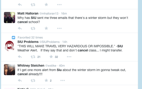 Classes beginning at 4 p.m. or later canceled as winter storm hits Carbondale