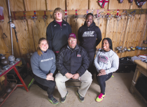 Throws coach cultivates success at alma mater