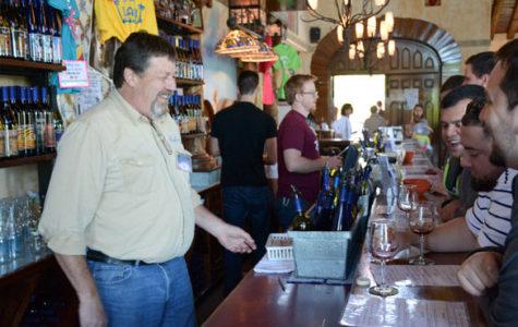 The summer sun shines on southern Illinois wineries