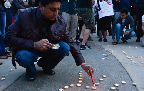 Candlelight Vigil held for victims of Nepal Earthquake