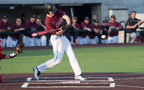 Saluki outfielder battles arm injury in fight for playing time