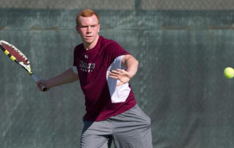 SIU men's tennis closes season with sweep