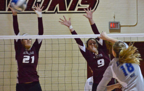 SIU volleyball working to reject opponents' chances