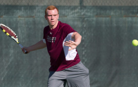 SIU men's tennis goes 2-1 in Tennessee