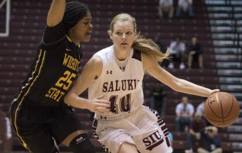Corrigan's sharp shooting leads SIU women's basketball past Purdue