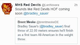 Sauer, Landon earn All-American status