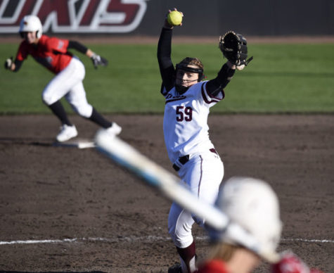 Saluki softball finishes opening weekend with shutout win