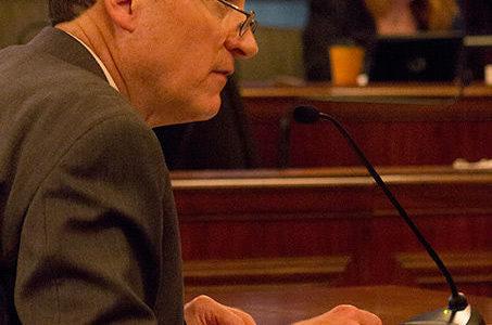 Dunn talks cuts in Springfield
