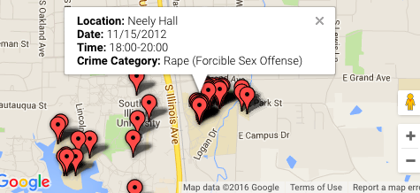 Majority of sexual assaults on campus are in student housing