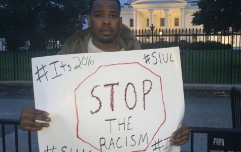 Student calls on President Obama to help end racism at SIU