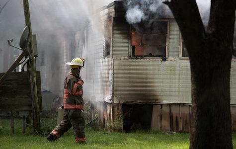 Carbondale fire investigating abandoned trailer blaze