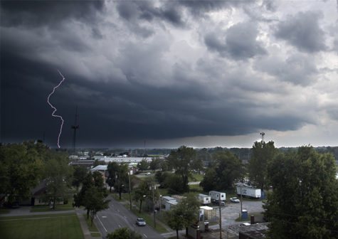 Photo of the day: Lightning strikes over Carbondale