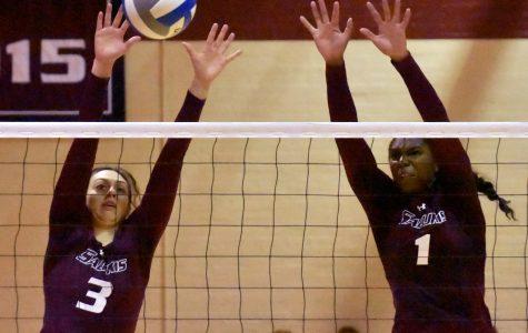 SIU volleyball defeats Bradley to remain undefeated in MVC