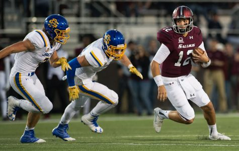 SIU football drops third straight game with loss to Illinois State
