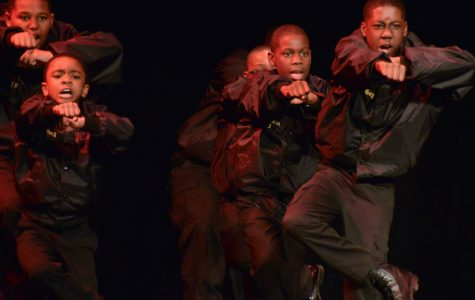 Alpha fraternity showcases step at Shryock (VIDEO)
