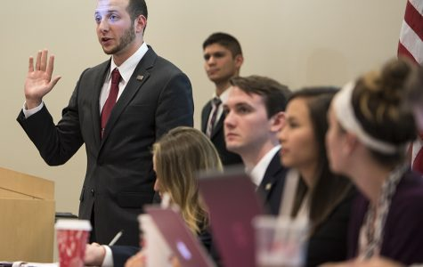 USG senators vote against Stern's suspension