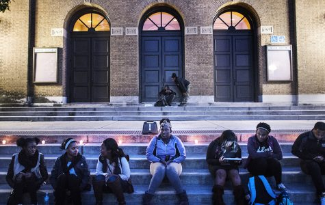 SIU students gather Wednesday night to reflect on election results