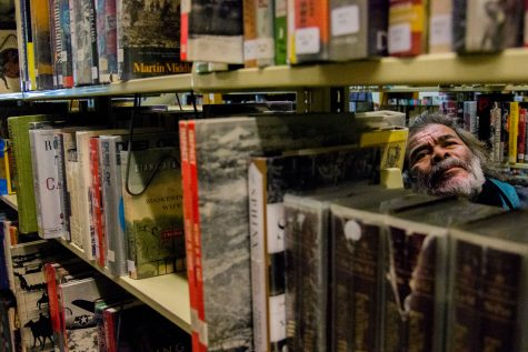 Photo of the Day: Looking through the library