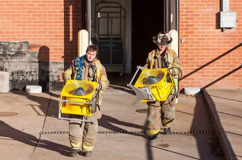 Authorities respond to fire at Memorial Hospital