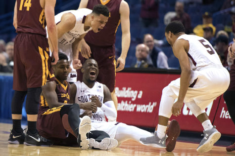 Salukis' second half surge propels them past Loyola and to the semifinals