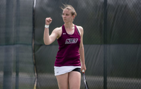 Gallery: Saluki women's tennis defeats Illinois State and Bradley