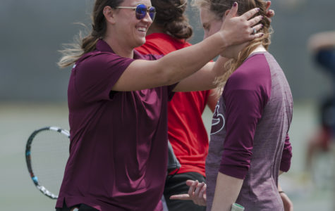 Women's tennis gets tough win over Bradley, is now 2-2 in conference play