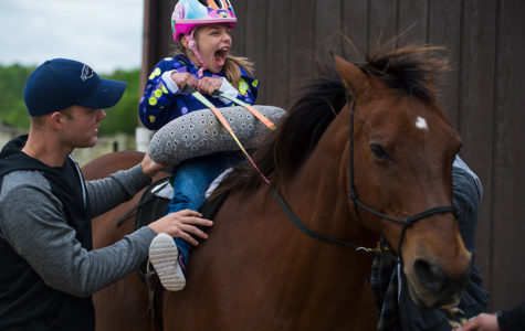 Equine therapy helps kids take new steps