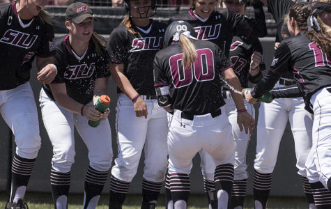 SIU softball wins twice; advances to MVC championship game
