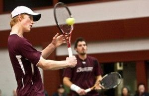 Salukis split doubleheader at home