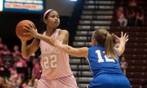 Salukis fall short in annual Pink Out