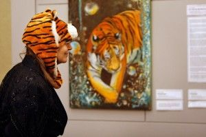 Ohio tiger incident sparks art at SIU