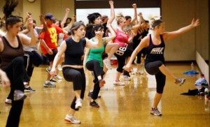 Zumba classes shake things up at the Recreation Center