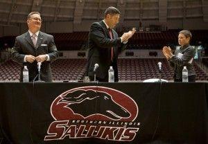 Hinson formally introduced as men's basketball coach