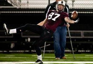 Football preps for next season in maroon, white spring game