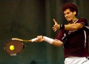 Men's tennis drops MVC Championship opener