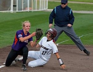 Softball sweeps another MVC series