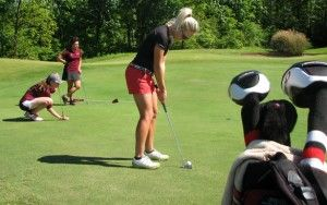 Women's golf seeded third in MVC Championships