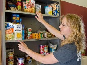 Student secures grant to help open food pantry