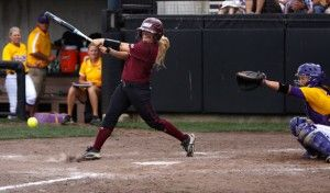 Bats falter in senior weekend matchup