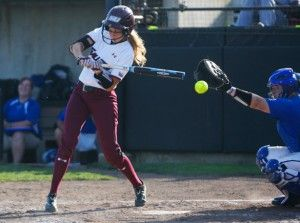 Softball takes game one of MVC Championship