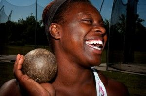 McCall wins title in hammer throw, women's team places 14th overall