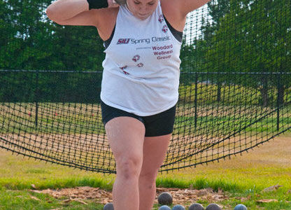 Summer training keeps throwers busy