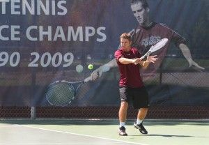 Experience, practice key to men's tennis season