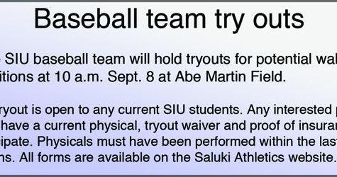 Baseball team tryouts 2012-2013